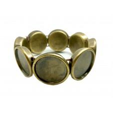 Bracelet Élastique Bronze pour Cabochon 20mm pour la Création de Bijoux Fantaisie - DIY