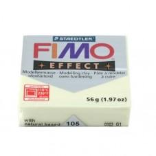 FIMO Effect N°105 Jaune Pastel /Vanille Pain 56g pour la Création de Bijoux Fantaisie - DIY