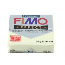 FIMO Effect N°105 Jaune Pastel /Vanille Pain 56g