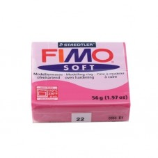 FIMO Soft N°22 Framboise Pain 56g