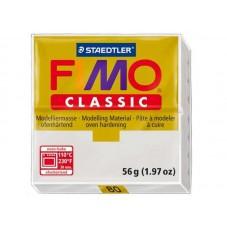 FIMO Classic N°80 Gris Dauphin Pain 56gr pour la Création de Bijoux Fantaisie - DIY