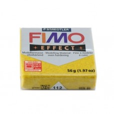 FIMO Effect N°112 Or Pailleté Pain 56g