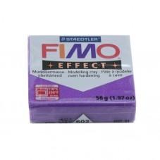 FIMO Effect N°602 Lilas Pailleté Pain 56gr