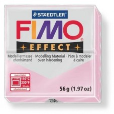 FIMO Effect N°206 Rose Quartz Pain 56g pour la Création de Bijoux Fantaisie - DIY