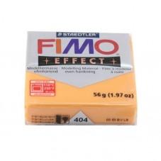 FIMO Effect N°404 Orange Translucide Pain 56g pour la Création de Bijoux Fantaisie - DIY