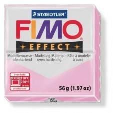 FIMO Effect N°205 Rose Pastel Pain 56g pour la Création de Bijoux Fantaisie - DIY
