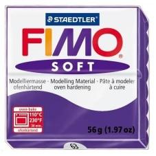 FIMO Soft N°63 Prune Pain 56g pour la Création de Bijoux Fantaisie - DIY