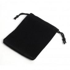 5 Pochettes de Velours Noir 7x9cm pour la Création de Bijoux Fantaisie - DIY