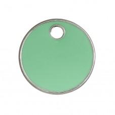 2 Breloques Sequin Email Vert 16mm pour la Création de Bijoux Fantaisie - DIY