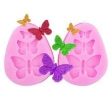 Moule en Silicone Papillons Fimo Résine Gâteau