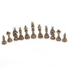 6 Breloques Echec Bronze pour la Création de Bijoux Fantaisie - DIY