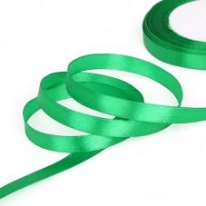 2 Mètres de Ruban Satin Vert 10mm pour la Création de Bijoux Fantaisie - DIY