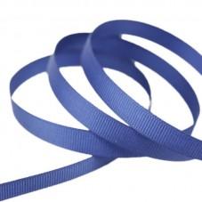 2 Mètres de Ruban Gros Grain Bleu Marine 10mm pour la Création de Bijoux Fantaisie - DIY
