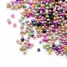 1 Sachet de 10g de Microbilles en Verre 1-1.5mm pour la Création de Bijoux Fantaisie - DIY