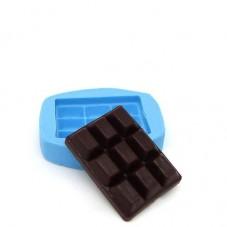 Moule en Silicone Miniature Tablette Chocolat Fimo Résine Gâteau