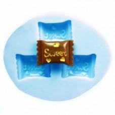 Moule en Silicone Bonbon Sweet 4,3cm Fimo Résine Gâteau