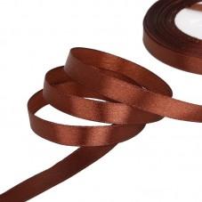 2 Mètres de Ruban Satin Chocolat 10mm pour la Création de Bijoux Fantaisie - DIY