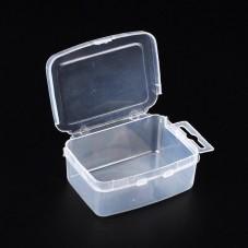 Boîte de Rangement en Plastique pour Perles ou Petites Fournitures 7x5cm pour la Création de Bijoux Fantaisie - DIY